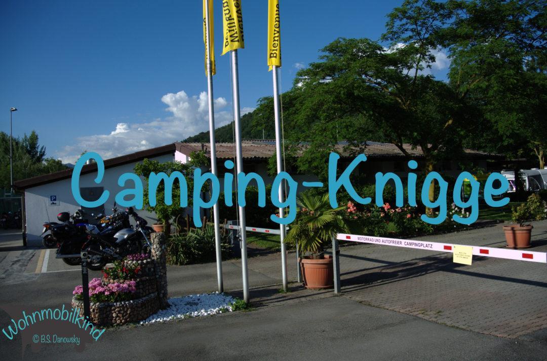 Camping-Knigge