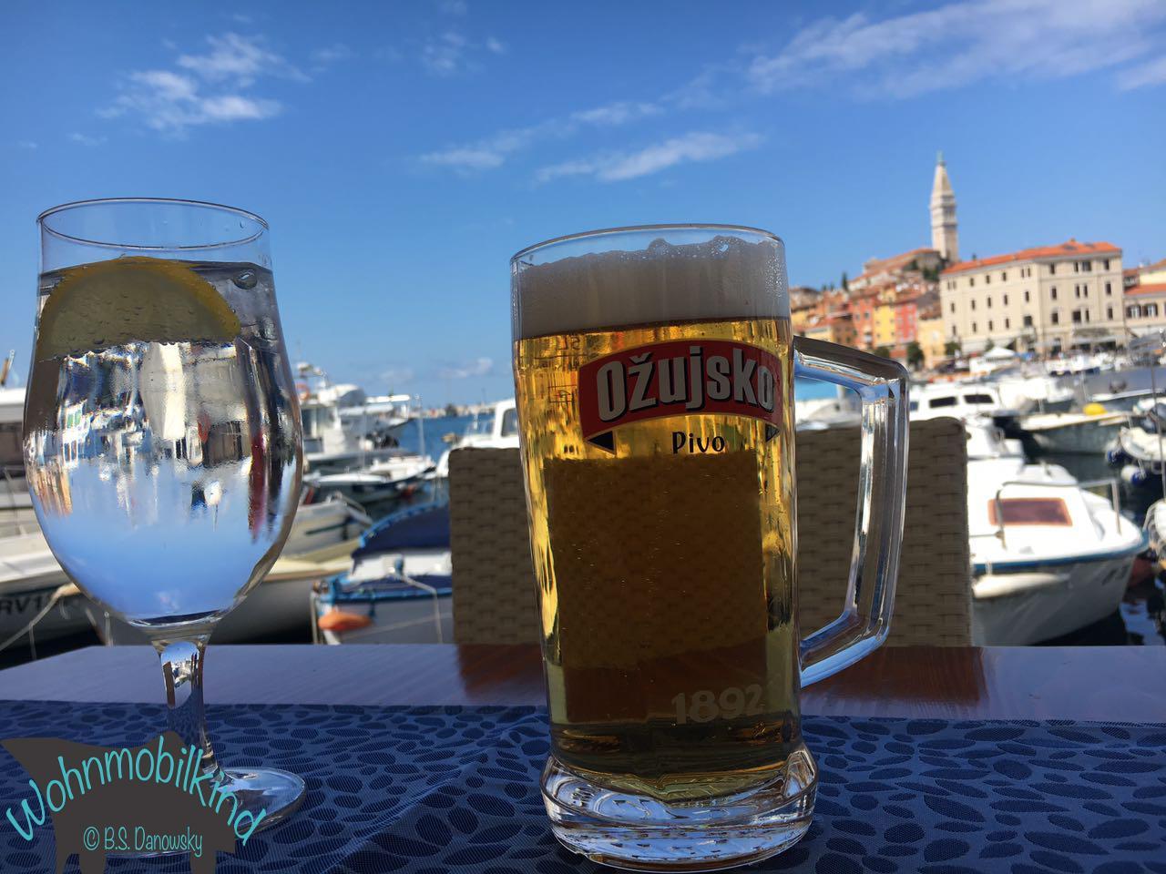 Bier in Rovinj