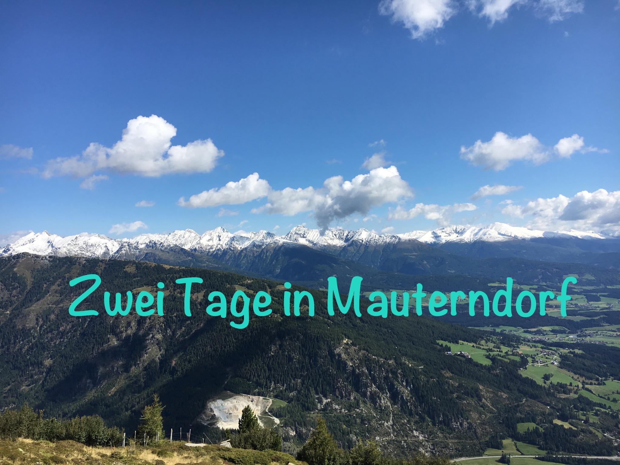 Zwei Tage in Mauterndorf