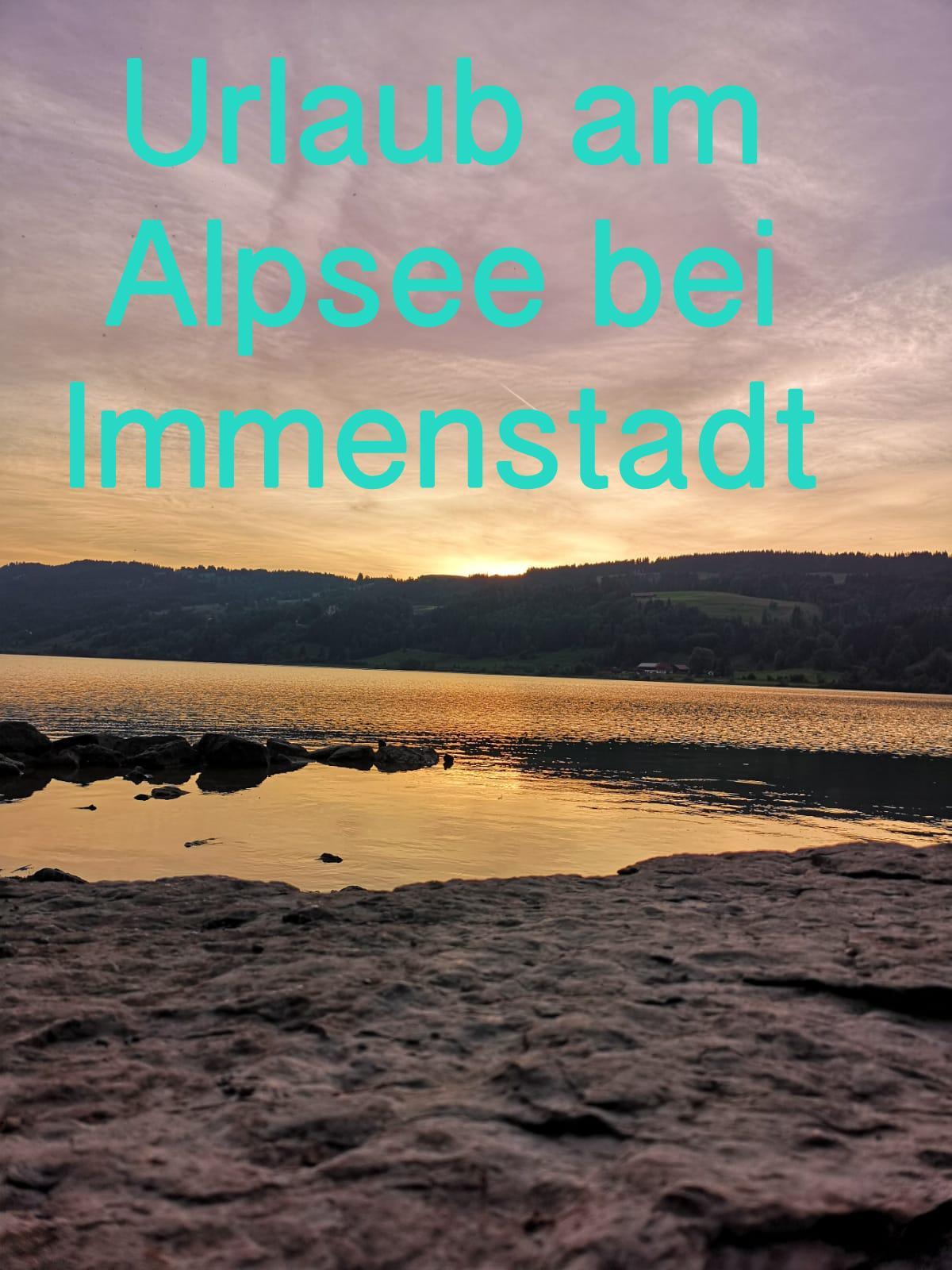 Urlaub am Alpsee bei Immenstadt